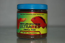 New Life Spectrum Ultra Red Small Fish Formula 50 gram Tub 0.5mm Sinking Pellet