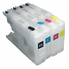 For Brother LC12 LC17 LC71 LC40 LC73 LC75 LC79 Refillable Ink Cartridge Empty V4