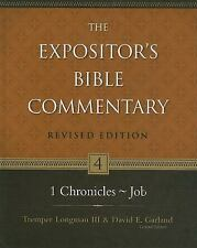 1 Chronicles-Job (The Expositor's Bible Commentary), Mabie, Frederick, Good Book