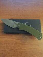 Boker Plus 01BO538 XS OD Olive Scales, PVD Coated 440C Blade