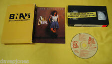 DALE DANIEL Luck Of Our Own 1993 CD w/ PROMO BOX w/ VHS BNA Contemporary Country