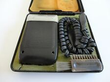 Vintage Electric Shaver BRAUN Synchron Plus with Case Made in Argentina