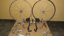 Shimano 600 Group Vintage w/700c Wheelset - 7 Speed - FC-6207 Crankset MAVIC 105
