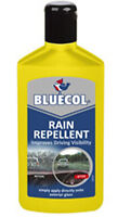 Bluecol Repellent Improves Car Windscreen Visibility Repels Rain x Sleet Snow