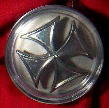 HOT ROD  Rat Rod IRONCROSS STEERING WHEEL SPINNER Knob Suicide Brody Necker nob