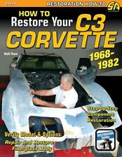 How to Restore Your C3 Corvette 1968-1982 - Engine, Interior, Frame, Fiberglass