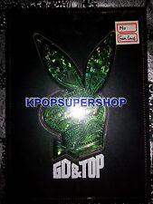 GD & TOP Vol. 1 Green Version CD BIGBANG G-DRAGON Big Bang GREAT Cond X Fam Card