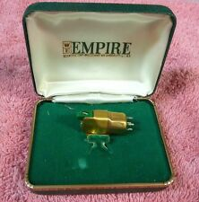 Empire 880 p cartridge. with original case. Gold. Stylus, collector US