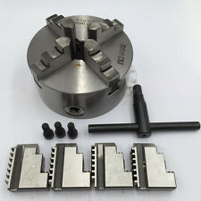 250MM 4 Jaw 10 Inch Lathe Chuck Self Centering Independent for CNC Metalworking