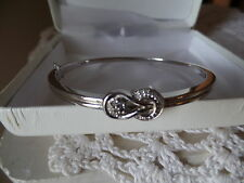 """""""The Love Knot Collection"""" Diamond Bangle -Org. Retail $450"""