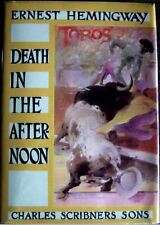 DEATH IN THE AFTERNOON - Ernest Hemingway 1932 1st Edition