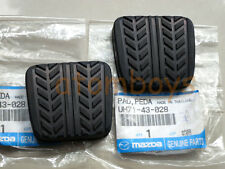 X2 GENUINE Mazda 323 626 323F MX-5 RX-7 RX7 BT-50 clutch & brake Pedal Pad