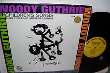 Woody Guthrie Childrens Songs Sung by Bob & Louise De Cormier LP EX+ SHRINlK