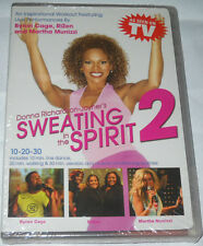 Sweating in the Spirit 2 - A 3-In-1 Gospel Workout (DVD, 2006) BRAND NEW SEALED!