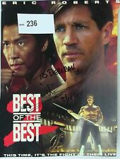 Eric Roberts Original Autographed Color Magazine Page - Action Movie Star