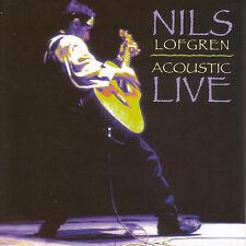 NILS LOFGREN New Sealed 2017 ACOUSTIC LIVE CONCERT CD
