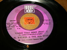 JR.WALKER - GIMME THAT BEAT PART 1 + PART 2  / LISTEN - TAMLA MOTOWN