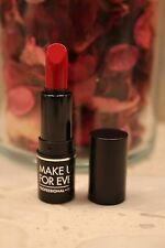 New MAKEUP FOREVER Artist Rouge Lipstick .04oz M401 HOT RED Deluxe Travel Size