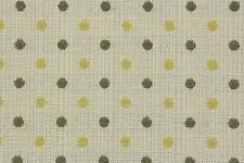 12.0m NEXT 'Chenille Spot'  in Ochre Upholstery Fabric