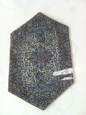 Design gewebt Art Seide Termeh Tapisserie Läufer Tischdecke Wandbehang 49x31cm.