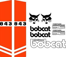 843 repro decals / decal kit / sticker set US seller Free shipping fits bobcat