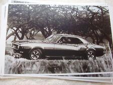 1968 PONTIAC FIREBIRD COUPE  11 X 17  PHOTO /  PICTURE