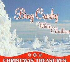 Bing Crosby- Christmas Treasures with White Chrismas cd, sealed in a tin can