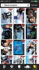 Topps Star Wars Digital Card Trader Steel Empire Illustrated 26-50 Insert Set