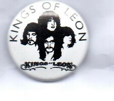 KINGS OF LEON BUTTON BADGE - AMERICAN ROCK BAND - ONLY BY THE NIGHT - 25mm PIN