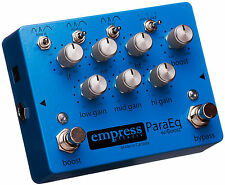 Empress ParaEQ Guitar Effect Pedal EQ with Boost Brand New