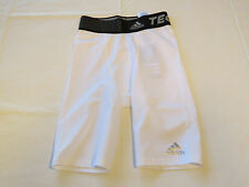 "Adidas Performance Techfit Base Compression Shorts Climalite 9"" Short 2XS Mens"