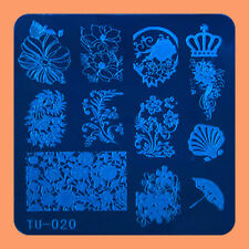 NEW Stamping Manicure Image Nail Art Image Stamp Template Tool Plate Polish T-20