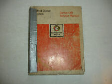 Detroit Diesel Series 149 Engines Factory Service Shop Overhaul Manual  9/81