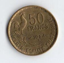 QUALITE MONNAIE DE 50 FRANCS GUIRAUD DE 1954 B @ PETIT TIRAGE @ QUALITE PROMO !!