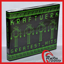 KRAFTWERK Greatest Hits 2CD Digipak BOX Best Live Karl Bartos Hütter Flür SEALED