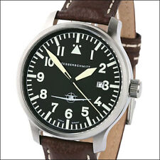 Aristo Messerschmitt Swiss Quartz Aviator with SuperLuminova Hands #ME108-42B