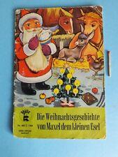Kinderbuch Bilderbuch Eine Weihnachtsgeschichte von Maxel dem kleinen Esel