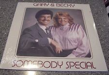 """Gary & Becky Bucher """"Somebody Special"""" CHRISTIAN SEALED NM LP PEORIA, IL"""