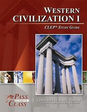 CLEP Western Civilization 1 Study Guide (Perfect Bound)