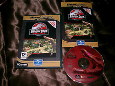 JURASSIC PARK OPERATION GENESIS PC CD-ROM V.G.C. ( complete with games manual )