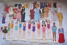 RARE Huge Lot American Girl Magazine Real Girls Historical Clothes + Paper Dolls