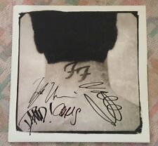 Foo Fighters Signed Record There's Nothing Left Dave Ghrol Music Memorabilia