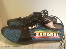 NOS DETTO PIETRO Art. 88 Saronni Leather +Nylon Road Bike Cycling Shoes Size 37