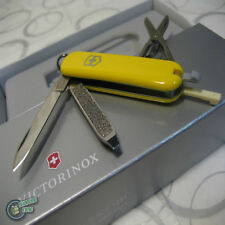 【v062238】Victorinox Swiss Army Knife 58mm Classic Yellow 7 Function Pocket Tool