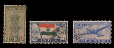 India 1947 Year Units, Used -  Collector Packs - Used Stamps -3 Stamps