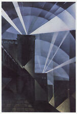 Searchlights by Christopher Nevinson Art Deco print 11 x 14 inch mount STUNNING