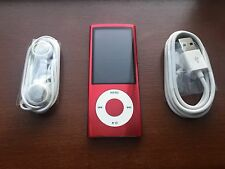 Apple 16GB iPod Nano 5th Generation  Red Special Edition Excellent Condition