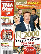 TELE STAR N°2000 31 JANVIER 2015  SPECIAL STARS/ BAKER/ MARTIN/ THE VOICE/ CARAT