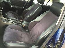 99-05 Lexus IS 200 300 Altezza Black Half LEATHER SEATS INTERIOR & DOOR CARDS
