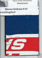 MARCUS AMBROSE CLOROX KINGSFORD TOYOTA AUTHENTIC NASCAR RACE USED SHEETMETAL #4